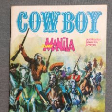 Cómics: COW BOY. JOHNNY MANILA, LA DILIGENCIA MALDITA 1976 EDITORIAL URSUS. Lote 244739300