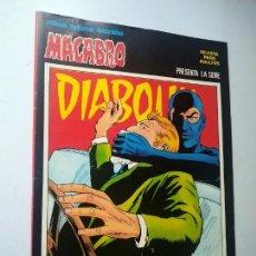Cómics: DIABOLIK Nº 23, DIABOLIK ES INOCENTE. MACABRO, URSUS EDICIONES.. Lote 246061700