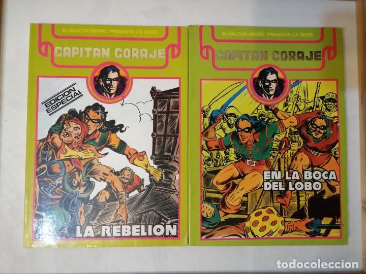 CAPITAN CORAJE COMPLETA EN 2 TOMOS RETAPADOS.ED. URSUS. (Tebeos y Comics - Ursus)