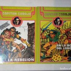Cómics: CAPITAN CORAJE COMPLETA EN 2 TOMOS RETAPADOS.ED. URSUS.. Lote 247683285