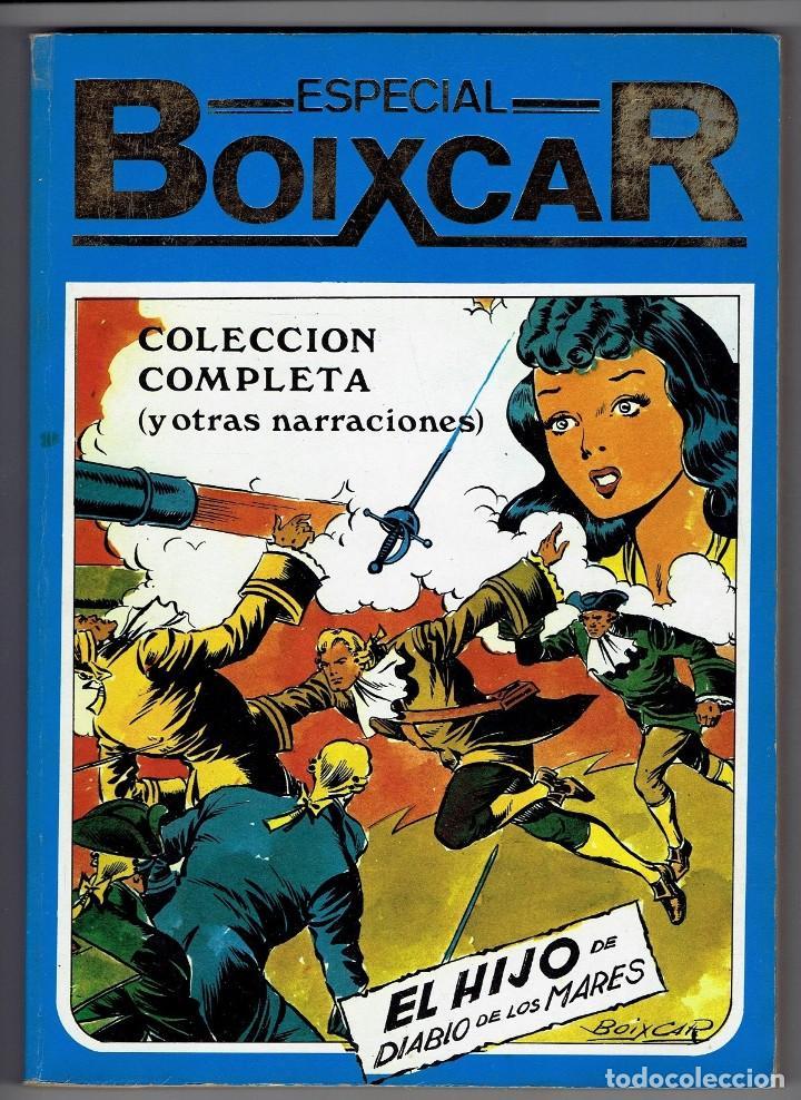 EL HIJO DE DIABLO DE LOS MARES - ESPECIAL BOIXCAR (RETAPADO 6 NÚMEROS) URSUS 1980 (VER 6 FOTOS) (Tebeos y Comics - Ursus)