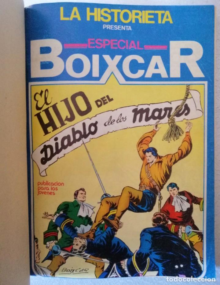 Cómics: EL HIJO DE DIABLO DE LOS MARES - ESPECIAL BOIXCAR (RETAPADO 6 NÚMEROS) URSUS 1980 (VER 6 FOTOS) - Foto 7 - 249491015