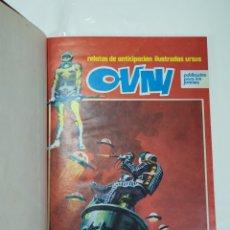 Cómics: OVNI , DE EDITORIAL URSUS , ENCUADERNADOS. Lote 253648580