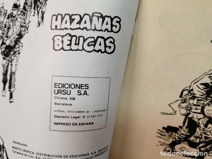 Cómics: Comic HAZAÑAS BELICAS relatos belicos ilustrados ediciones Ursus 1973 - Foto 5 - 255671180
