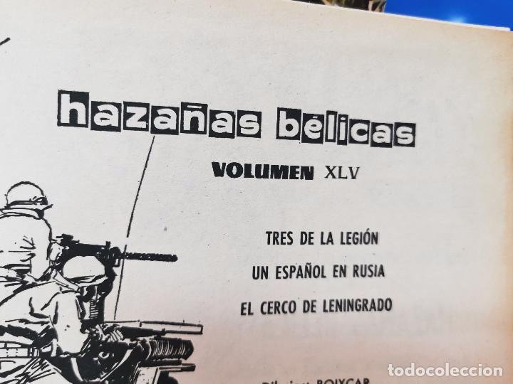 Cómics: Comic HAZAÑAS BELICAS relatos belicos ilustrados ediciones Ursus 1973 - Foto 6 - 255671180