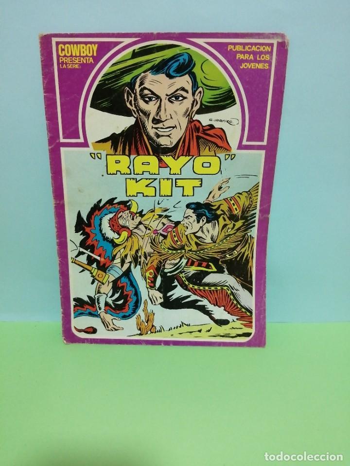 """COWBOY PRESENTA LA SERIE """"RAYO KIT"""" (Tebeos y Comics - Ursus)"""