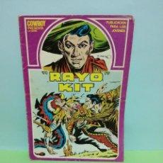 "Cómics: COWBOY PRESENTA LA SERIE ""RAYO KIT"". Lote 261185330"