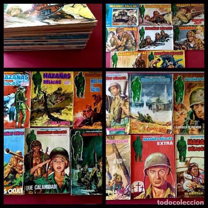 LOTE DE 24 HAZAÑAS BELICAS -EDITORIAL URSUS (Tebeos y Comics - Ursus)