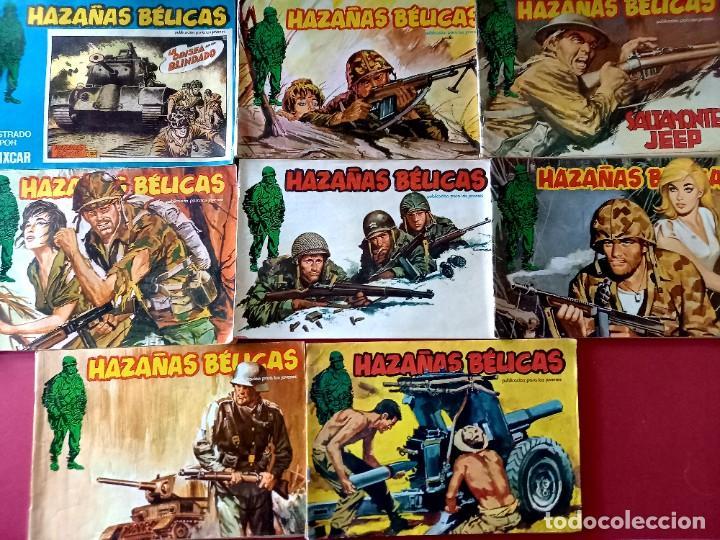 Cómics: LOTE DE 24 HAZAÑAS BELICAS -EDITORIAL URSUS - Foto 4 - 262031020