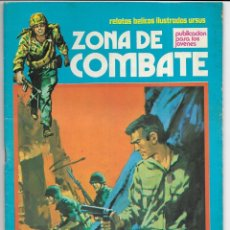 Cómics: ZONA DE COMBATE. Nº34. SOLDADO SIN NOMBRE. RELATOS BÉLICOS ILUSTRADOS URSUS. 1979. Lote 262760500