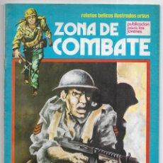 Cómics: ZONA DE COMBATE. Nº92. PURA COINCIDENCIA. RELATOS BÉLICOS ILUSTRADOS URSUS. 1979. Lote 262761275