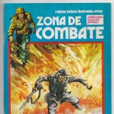 Cómics: ZONA DE COMBATE. Nº142. NAPOLES, HORA CERO. RELATOS BÉLICOS ILUSTRADOS URSUS. 1979. Lote 262761455