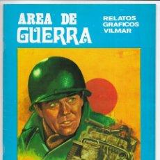 Cómics: AREA DE GUERRA. Nº 17 EPÍLOGO A UNA GUERRA. RELATOS GRAFICOS VILMAR. 1981. Lote 262885260