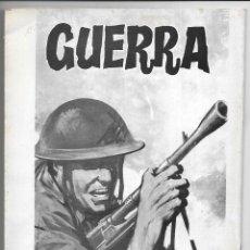 Cómics: AREA DE GUERRA. EXTRA 1981 DOS CAMARADAS. RELATOS GRAFICOS VILMAR. 1981. Lote 262885505