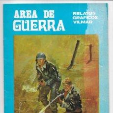 Cómics: AREA DE GUERRA. Nº 3 LOS PUENTES DEL RHIN. RELATOS GRAFICOS VILMAR. 1980. Lote 262886335