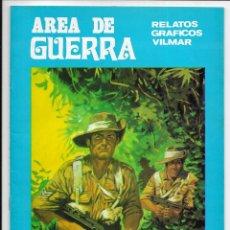 Cómics: AREA DE GUERRA. Nº 6 MONTECASSINO. RELATOS GRAFICOS VILMAR. 1980. Lote 262886835