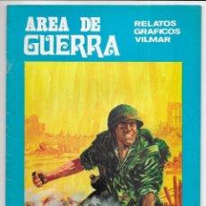 Cómics: AREA DE GUERRA. Nº 21 SUBIRACHI RELATOS GRAFICOS VILMAR. 1981. Lote 262891645