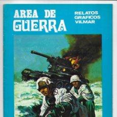 Cómics: AREA DE GUERRA. Nº 24 CUATRO AL INFIERNO & DOS CAMARADAS. RELATOS GRAFICOS VILMAR. 1981. Lote 262891860