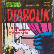 Cómics: DIABOLIK Nº 4. TRAS LA PUERTA CERRADA. URSUS EDICIONES 1976. Lote 262931825