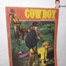 Cómics: COWBOY Nº 5 (EL MÁS VALIENTE, SHERIFF IMPROVISADO, LOS COBARDES QUEDAN SOLOS) AÑOS 70 - URSUS. Lote 262951760