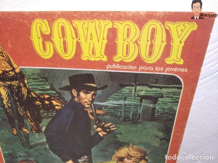 Cómics: COWBOY Nº 5 (EL MÁS VALIENTE, SHERIFF IMPROVISADO, LOS COBARDES QUEDAN SOLOS) AÑOS 70 - URSUS - Foto 2 - 262951760