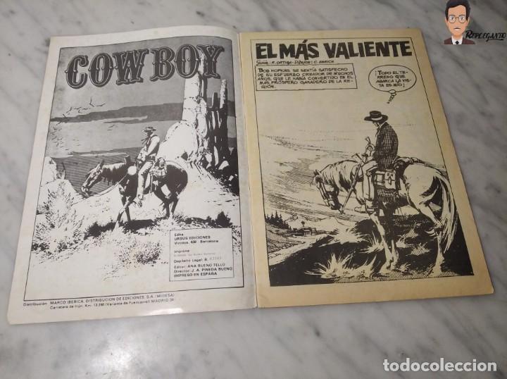 Cómics: COWBOY Nº 5 (EL MÁS VALIENTE, SHERIFF IMPROVISADO, LOS COBARDES QUEDAN SOLOS) AÑOS 70 - URSUS - Foto 5 - 262951760