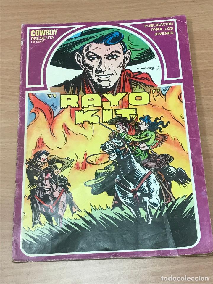 CÓMIC DE RAYO KIT Nº5 URSUS EDICIONES 1982 (Tebeos y Comics - Ursus)