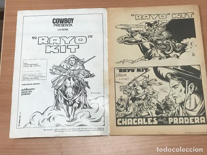 Cómics: CÓMIC DE RAYO KIT Nº5 URSUS EDICIONES 1982 - Foto 2 - 266540758