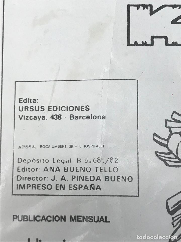 Cómics: CÓMIC DE RAYO KIT Nº5 URSUS EDICIONES 1982 - Foto 3 - 266540758