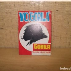 "Cómics: YO,""GORILA"".GORILA RELATOS DE AVENTURAS ILUSTRADOS URSUS. Lote 267262019"