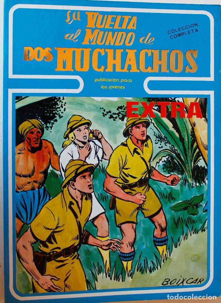 LA VUELTA AL MUNDO DE LOS MUCHACHOS, BOIXAR, 1 TOMO, COLECCIÓN COMPLETA 5 NÚMEROS ENCUADERNADOS (Tebeos y Comics - Ursus)