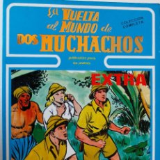 Cómics: LA VUELTA AL MUNDO DE LOS MUCHACHOS, BOIXAR, 1 TOMO, COLECCIÓN COMPLETA 5 NÚMEROS ENCUADERNADOS. Lote 269119948