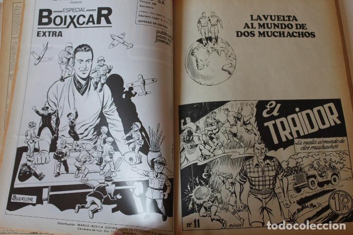 Cómics: La vuelta al mundo de los muchachos, Boixar, 1 tomo, colección completa 5 números encuadernados - Foto 2 - 269119948