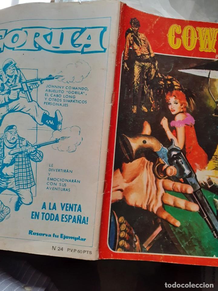 Cómics: COWBOY -URSUS-VOL. 2- Nº 24 -JOSÉ DUARTE-R.LÓPEZ ESPÍ-1978- CASI CORRECTO-DIFÍCIL-LEAN-5031 - Foto 3 - 269384813