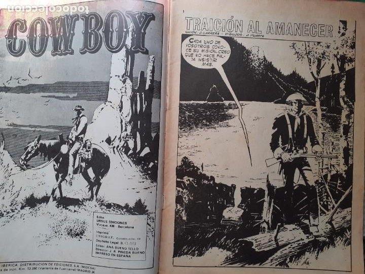Cómics: COWBOY -URSUS-VOL. 2- Nº 24 -JOSÉ DUARTE-R.LÓPEZ ESPÍ-1978- CASI CORRECTO-DIFÍCIL-LEAN-5031 - Foto 4 - 269384813