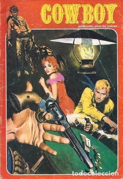 COWBOY -URSUS-VOL. 2- Nº 24 -JOSÉ DUARTE-R.LÓPEZ ESPÍ-1978- CASI CORRECTO-DIFÍCIL-LEAN-5031 (Tebeos y Comics - Ursus)