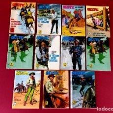 Fumetti: 11 NOVELAS COLECCION OESTE -EDICIONES PINED-URSUS -ALGUNAS PORTADAS DE LOPEZ ESPI -AÑOS 70. Lote 271561308