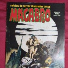 Fumetti: MACABRO. Nº 19. EDICIONES URSUS. Lote 271898173