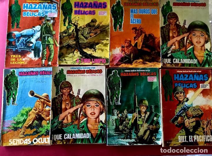 Cómics: LOTE DE 24 HAZAÑAS BELICAS -EDITORIAL URSUS - Foto 3 - 273720663