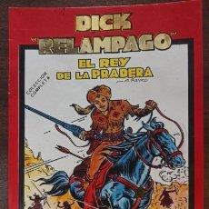 Fumetti: DICK RELAMPAGO EL REY DE LA PRADERA COMPLETA + JIM HURACAN - IMPECABLE. Lote 274791698