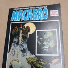 Fumetti: RELATOS DE TERROR ILUSTRADOS URSUS MACABRO 5. Lote 275062738