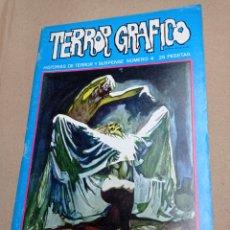 Cómics: TERROR GRAFICO.HISTORIAS DE TERROR Y SUSPENSE NUMERO 4. Lote 275069963