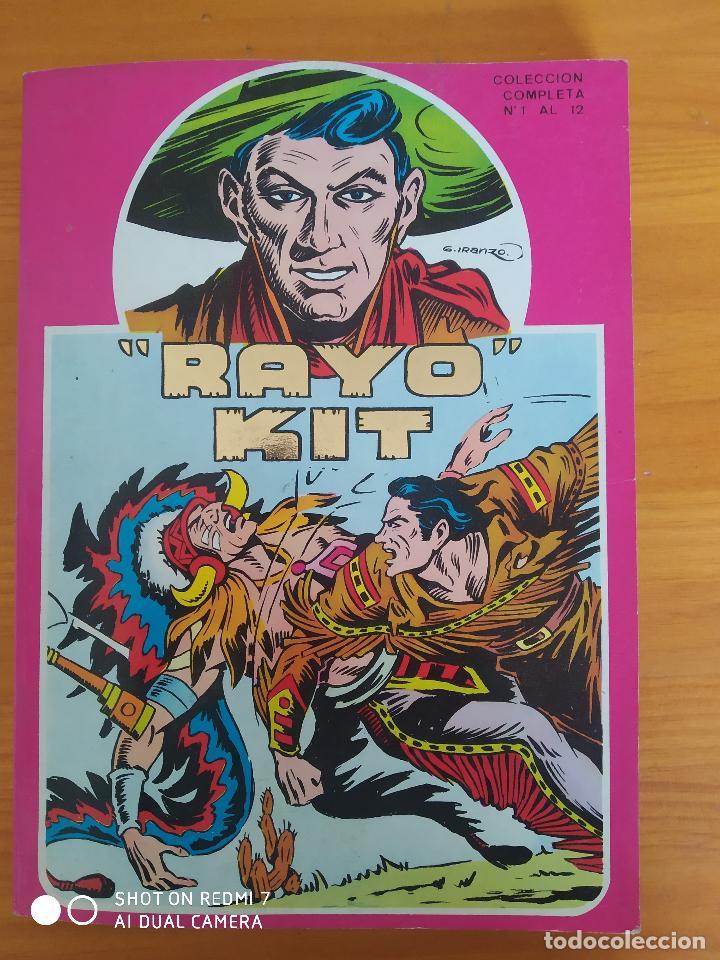 RAYO KIT COMPLETA - Nº 1 A 12 EN UN TOMO - URSUS - LEER DESCRIPCION (S) (Tebeos y Comics - Ursus)