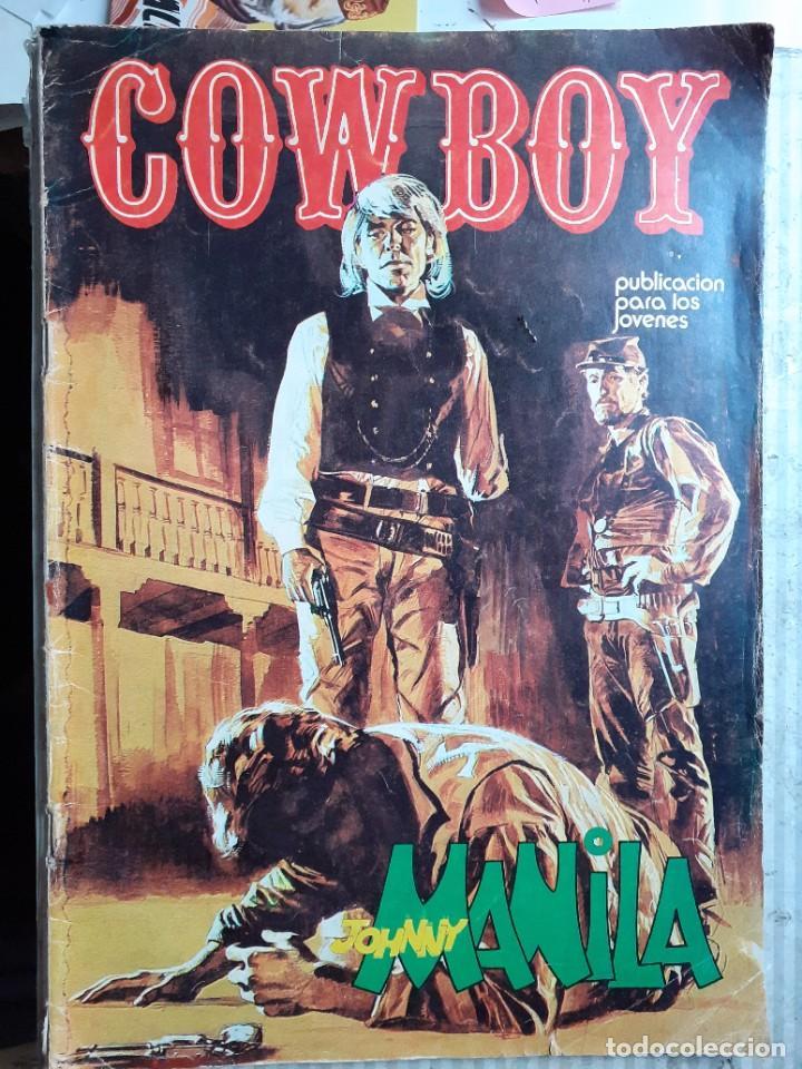 Cómics: COWBOY-URSUS-VOL.2- Nº 1 -JOHNNY MANILA-SERIE WESTERN ITALIANA-1976-CASI BUENO-DIFÍCIL-1978-LEA-5234 - Foto 2 - 276255308