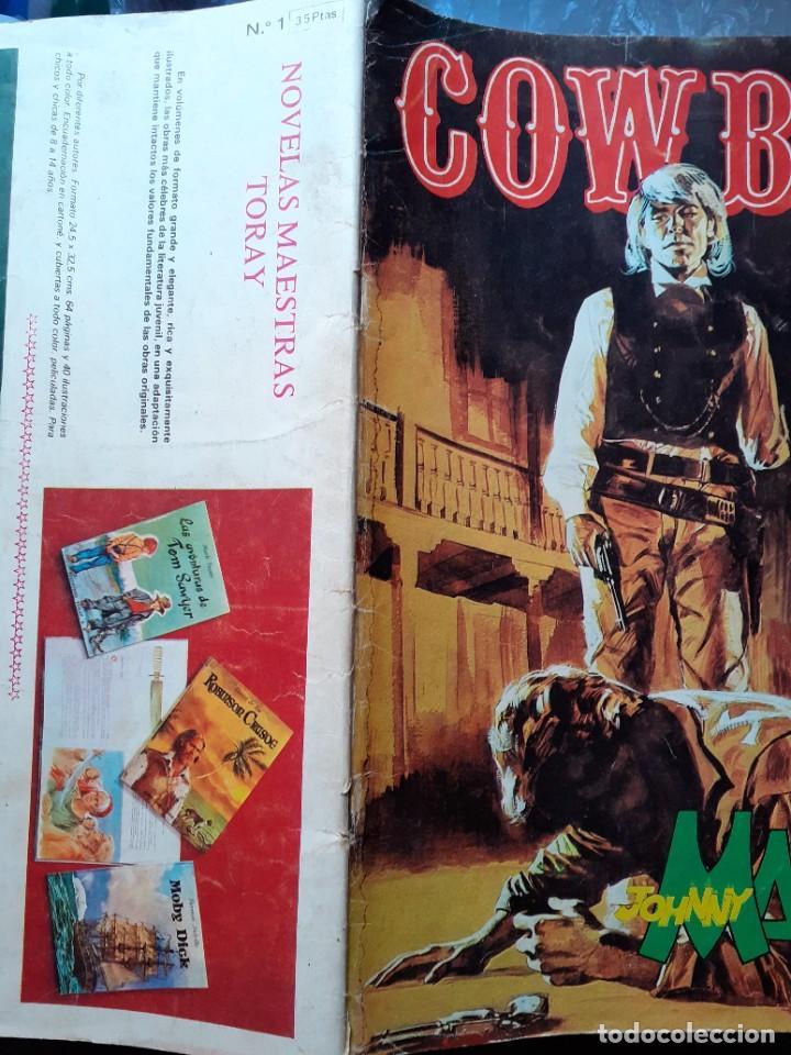 Cómics: COWBOY-URSUS-VOL.2- Nº 1 -JOHNNY MANILA-SERIE WESTERN ITALIANA-1976-CASI BUENO-DIFÍCIL-1978-LEA-5234 - Foto 3 - 276255308