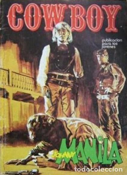 COWBOY-URSUS-VOL.2- Nº 1 -JOHNNY MANILA-SERIE WESTERN ITALIANA-1976-CASI BUENO-DIFÍCIL-1978-LEA-5234 (Tebeos y Comics - Ursus)