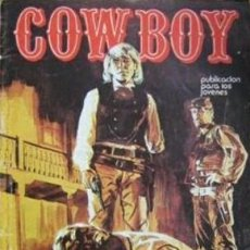 Cómics: COWBOY-URSUS-VOL.2- Nº 1 -JOHNNY MANILA-SERIE WESTERN ITALIANA-1976-CASI BUENO-DIFÍCIL-1978-LEA-5234. Lote 276255308