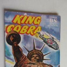 Cómics: KING COBRA. Nº 7. EL REPTÍL VOLADOR DALMAU SOCIAS ARX73. Lote 277246858