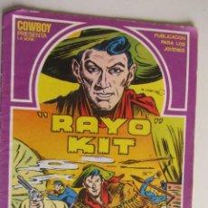 Cómics: COWBOY PRESENTA RAYO KIT Nº 1, EDITORIAL URSUS ARX73. Lote 277247663