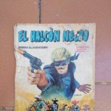 Cómics: COMIC HALCON NEGRO - ZORRO EL JUSTICIERO - URSUS EDICIONES - BARCELONA. Lote 279418508
